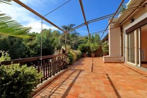 Vigna Clara – splendido attico panoramico nel verde – occasione unica